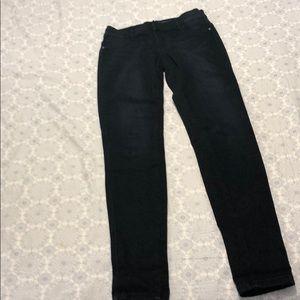 Ny&co dark denim legging women's size 0 stretch